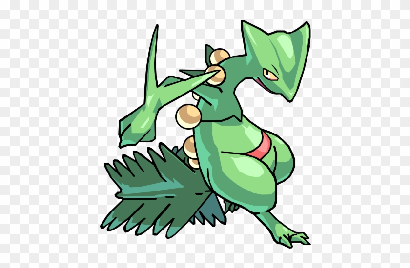 Sceptile Png - Sceptile Png, Transparent Png - 640x480(#3550264) - PngFind