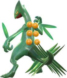 Sceptile Png - Sceptile (Pokémon) - Bulbapedia, the community-driven Pokémon ...