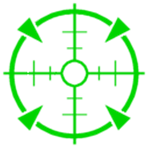 Green Crosshair Png Free Green Crosshair Png Transparent Images