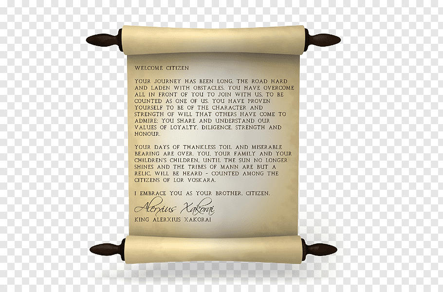 Chronicles Of Elyria Png - Scroll Paper, Chronicles Of Elyria PNG | PNGWave