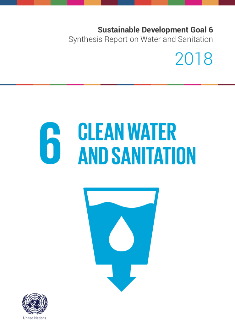 Sustainable Development Goal 6 Png - SDG 6 Synthesis Report 2018 on Water and Sanitation   UN-Water