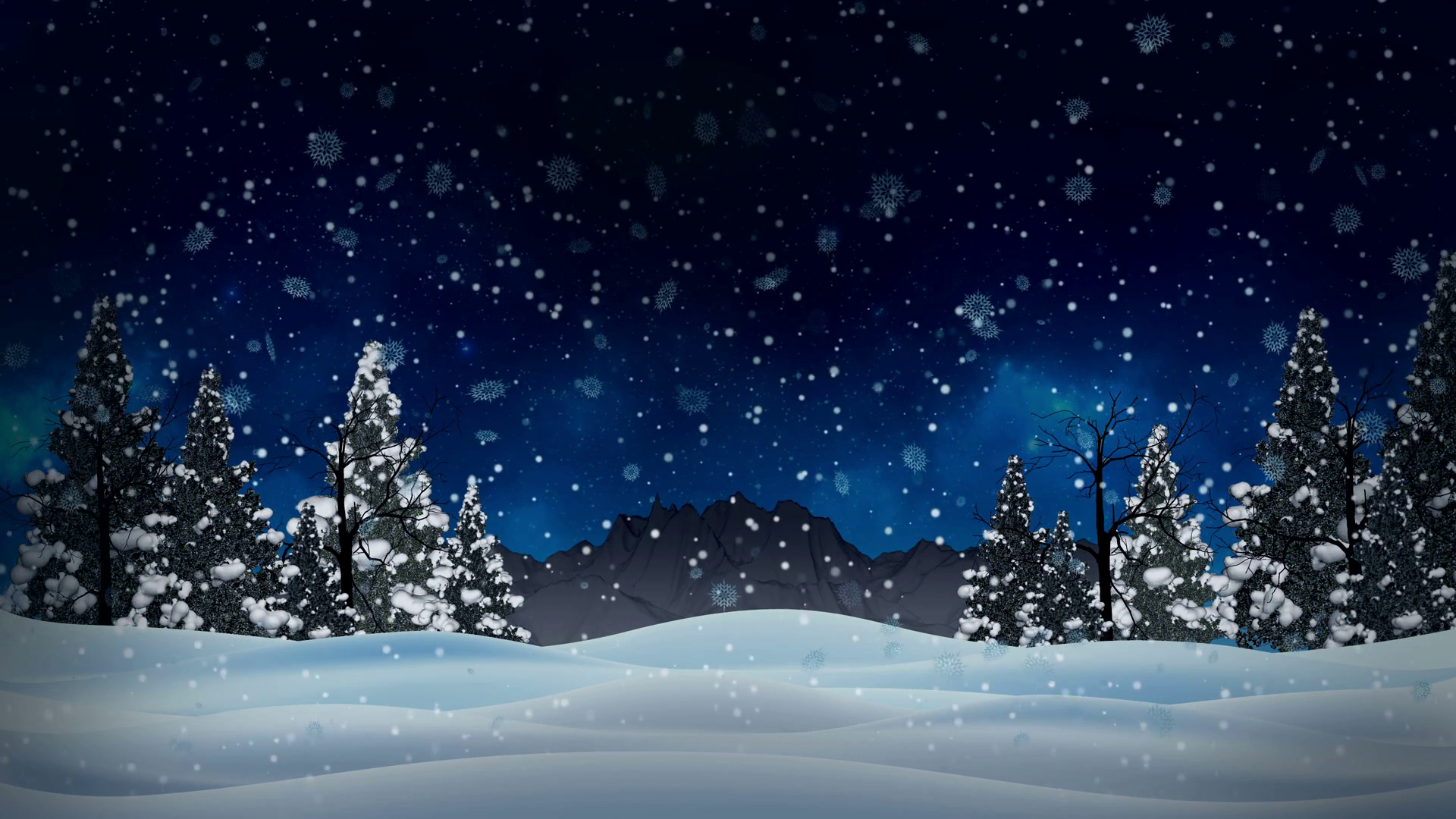Snowy Christmas Backgrounds Png - Seamless Animation White Snowy And Snow #377672 - PNG Images - PNGio