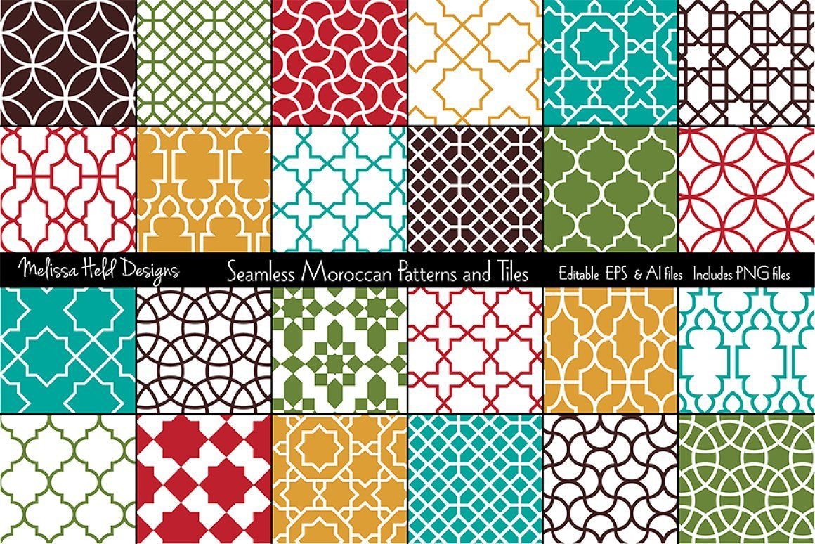 Interlocking Geometric Shapes Png - Seamless Moroccan Patterns & Tiles moroccan islamic middle eastern ...