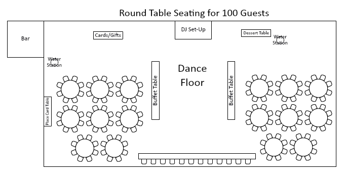 Png Table On Floor - Seating Styles | Canandaigua Country Club
