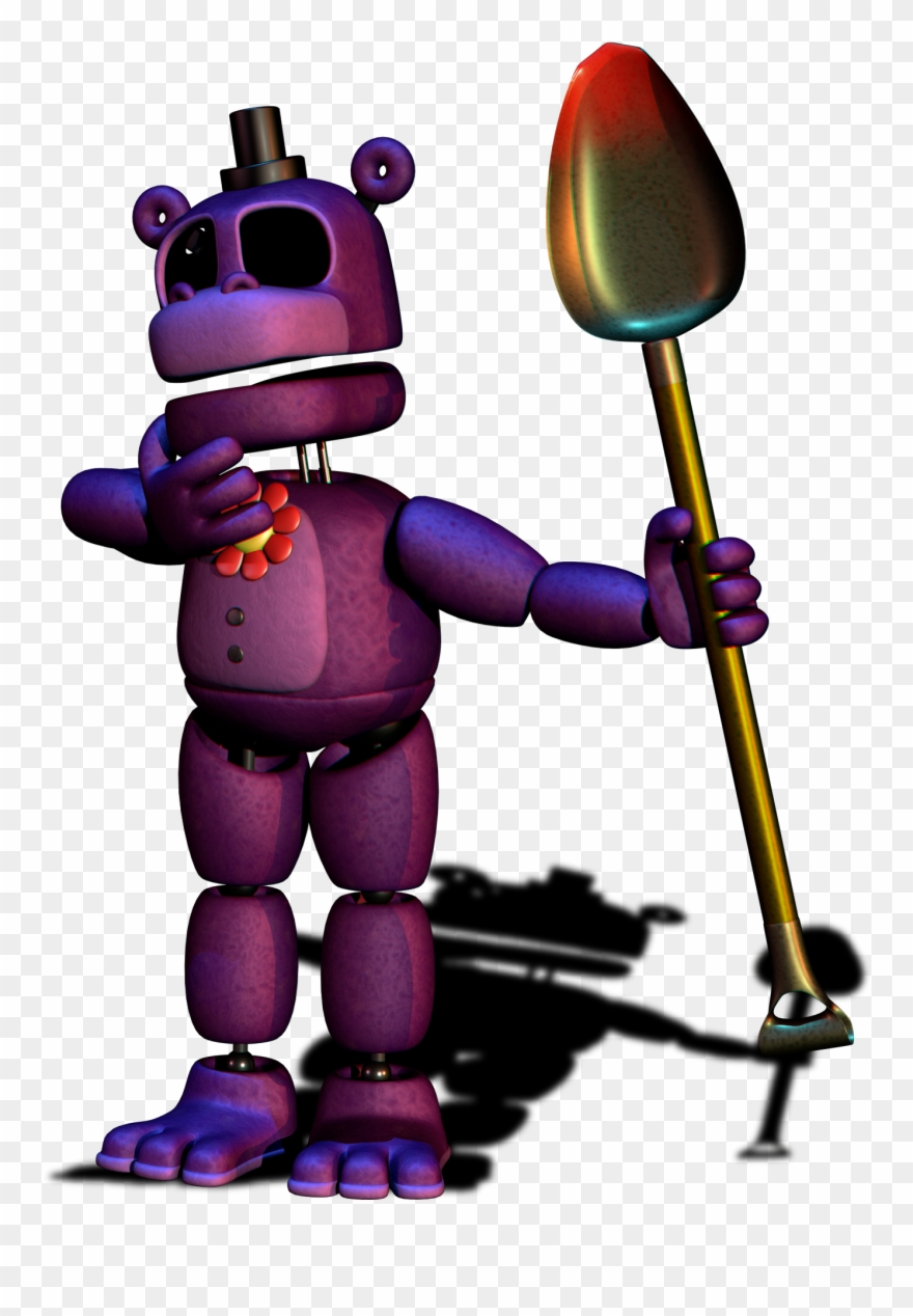 Fnaf Clipart - Security Mr - Hippo - Mr Hippo Fnaf Clipart (#698070) - PinClipart