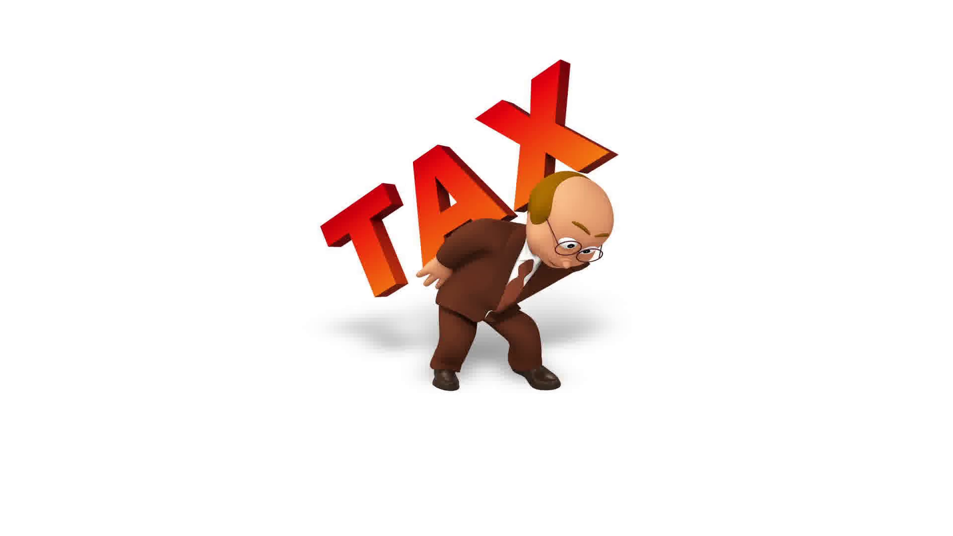 Man Carrying Heavy Load Png - Senior 3d business man character carries heavy tax load Motion ...