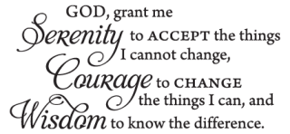 Serenity Prayer Wall Quotes™ Decal | W #1047581 - PNG Images ...