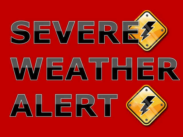 Weather Warning Png - Severe Weather Alert - Clip Art Library