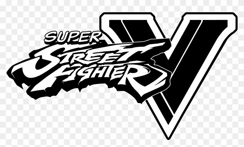 Street Fighter V Logo Png - Sfv Logo Png Transparent Background - Street Fighter V Logo, Png ...