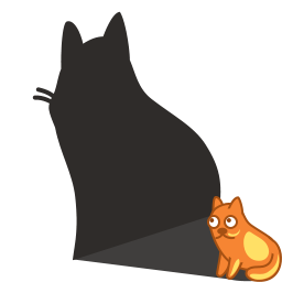 Shadow Cat Icon Download Cat Shadows I Png Images Pngio