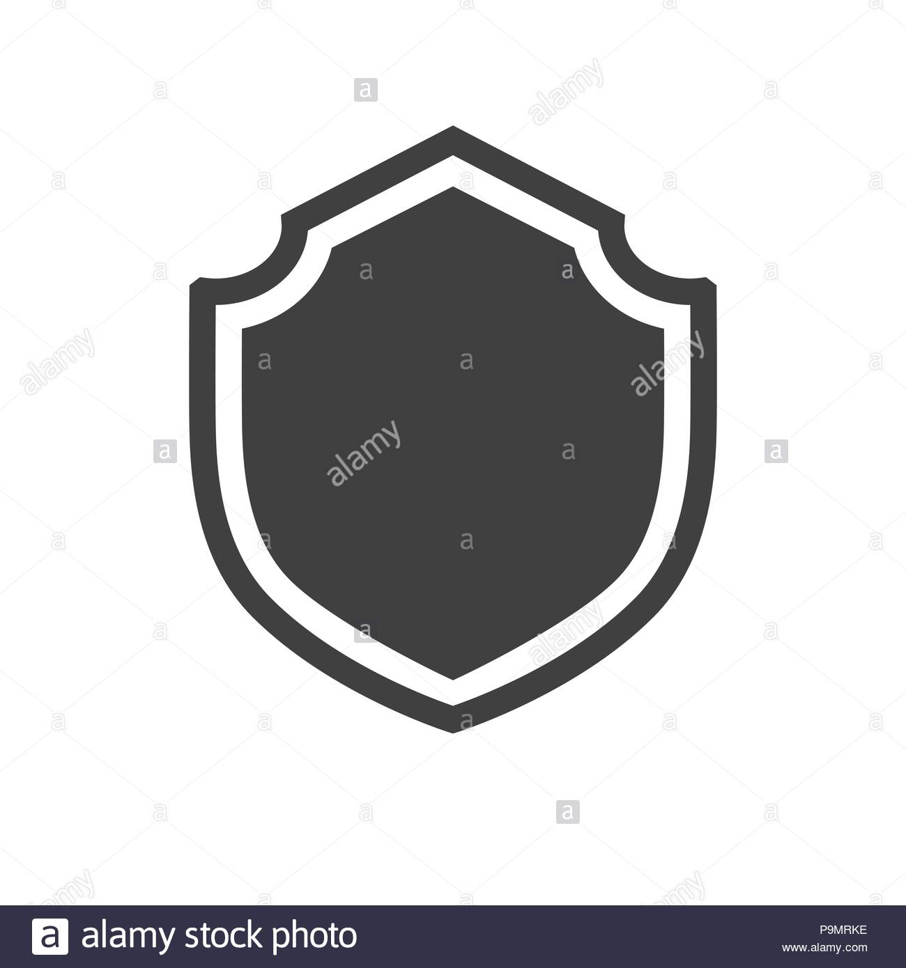 Shield Vector - Shield Vector Icon Stock Vector Art & Illustration, Vector Image ...