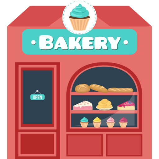 Bakery Shop Png - Shop, Bakery, buildings, Business icon