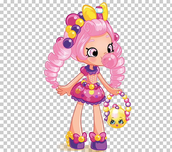 Shopkins Shoppies Bubbleisha Png - Shopkins Shoppies Bubbleisha Doll Shopkins Shoppies Pam Cake ...