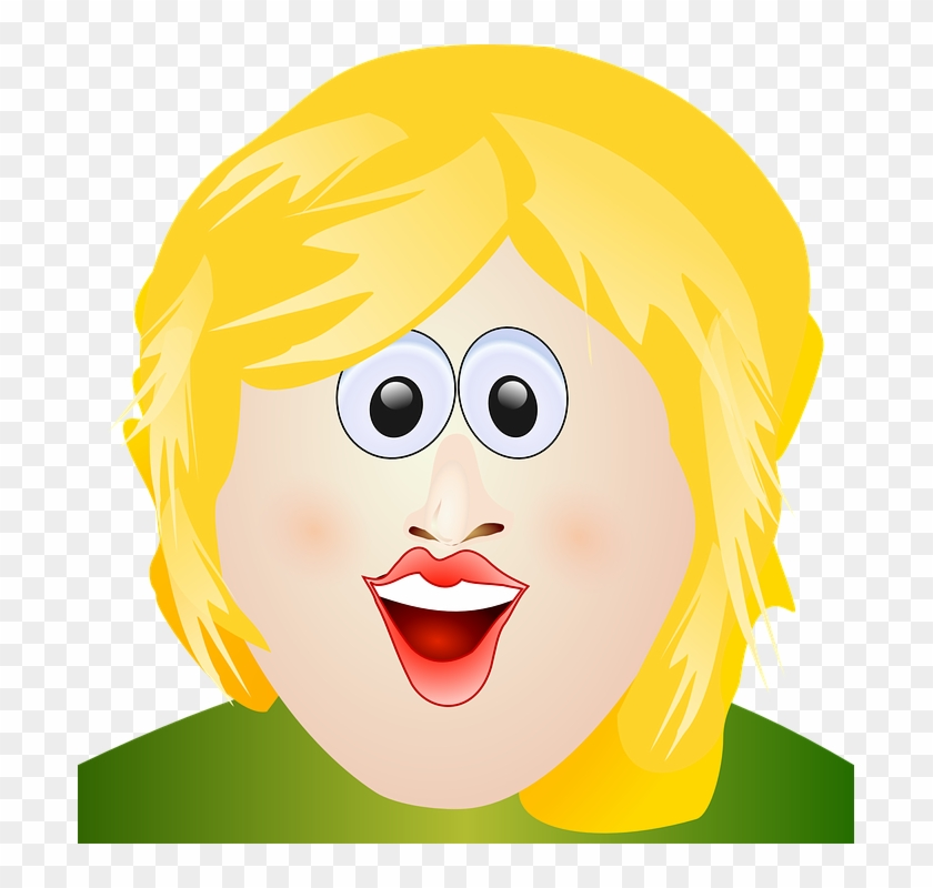 Short Hair Clipart Mom Face Ugly Blond 140146 Png Images Pngio