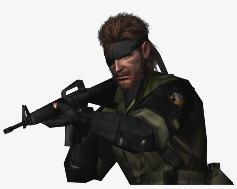Big Boss Png - Show - Big Boss Metal Gear Png - Free Transparent PNG Download ...