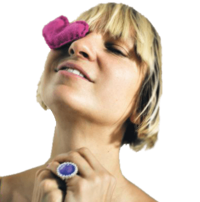 Sia Png - Sia Purple Heart transparent PNG - StickPNG