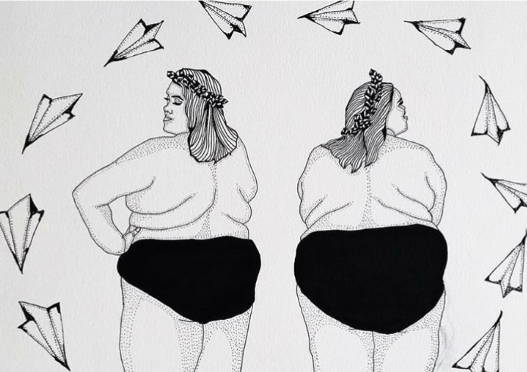 """Body Drawing Png Side - Side By Side: """"I live in a body that can't do tricks in front of ..."""