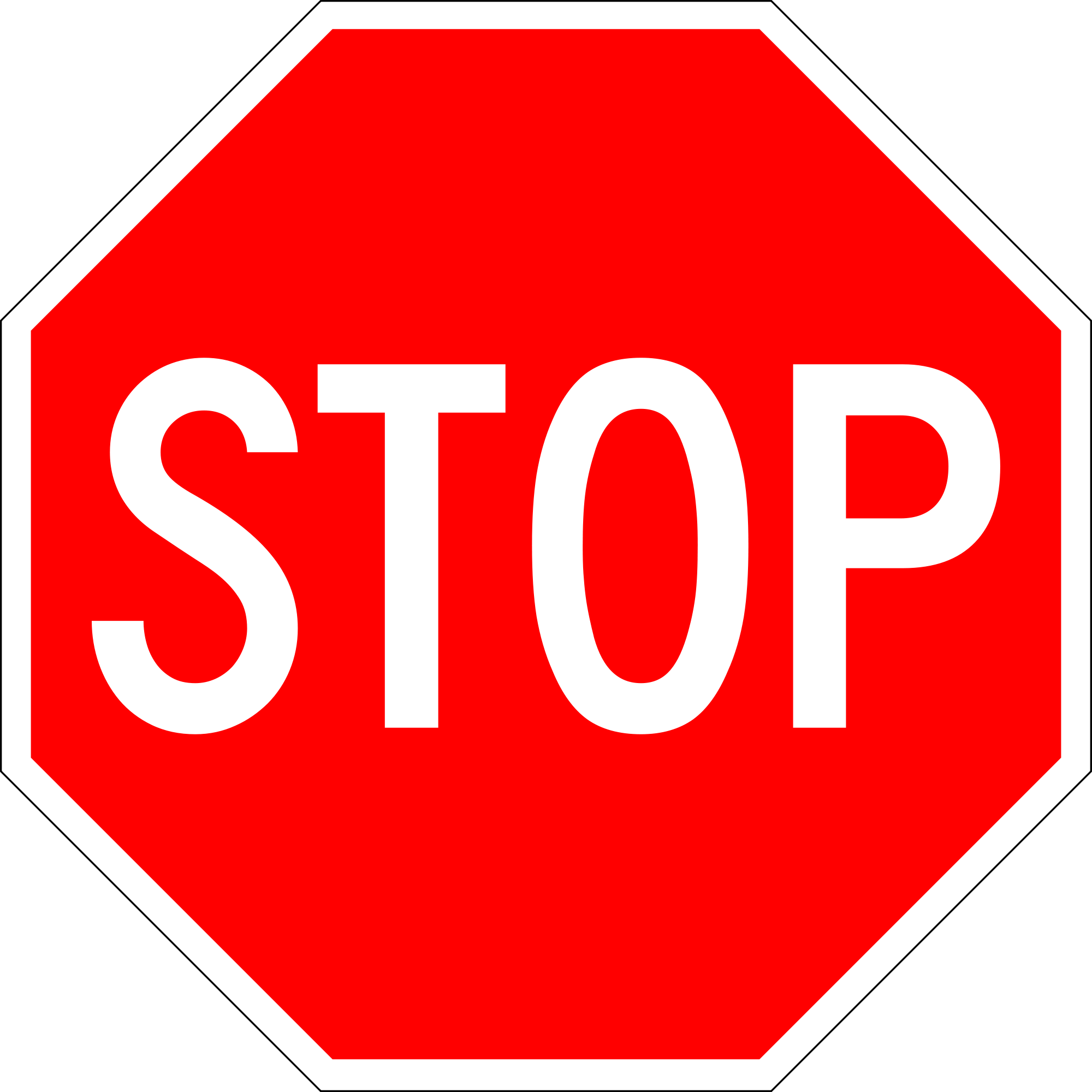 Png Of Stop Sign - Sign stop PNG images free download