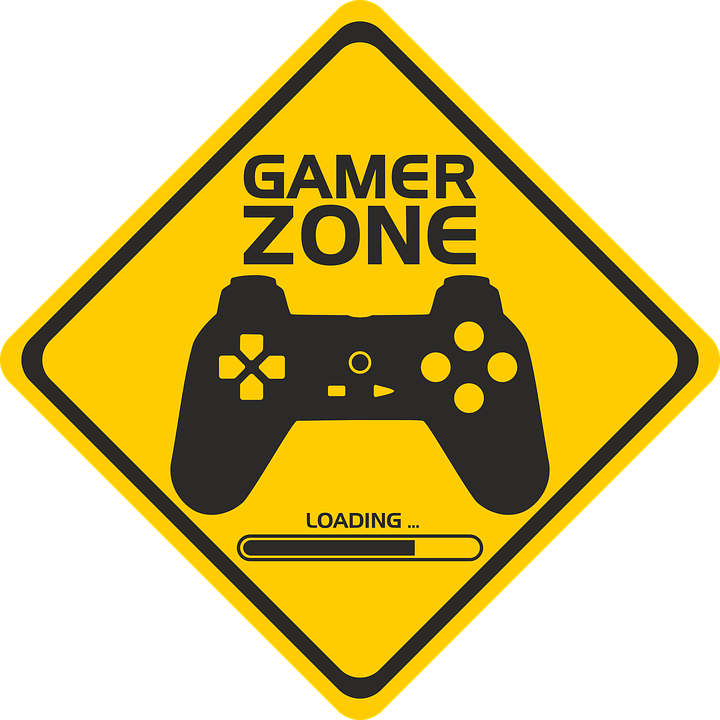 Gamer Png - Signal Gamer Zone Area Players - Free vector graphic on Pixabay
