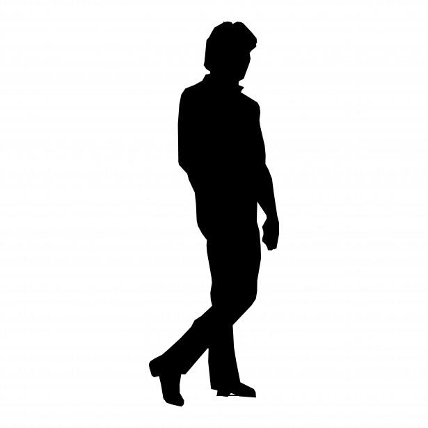 Alone Person Png - Silhouette Man Walking Free Stock Photo - Public Domain Pictures