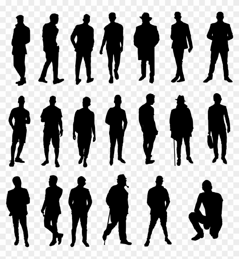 Human Scale Png - Silhouette Png Image - Human Scale Png, Transparent Png ...