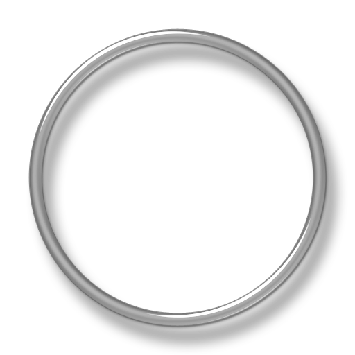 Silver 3d Circle Png - Silver circle png, Picture #518451 silver circle png