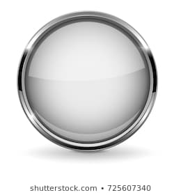 Silver 3d Circle Png - Similar Images, Stock Photos & Vectors of Abstract white round ...