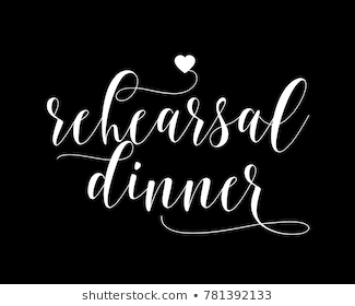 Rehearsal Dinner Png - Similar Images, Stock Photos & Vectors of Just Married lettering ...