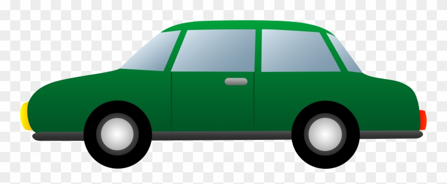 Simple Green Png - Simple Green Car - Clipart Cartoon Png Cars Transparent Png ...