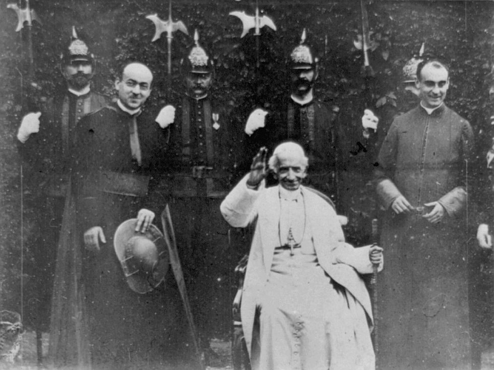 Pope Leo Xiii Png - Single photo: Pope Leo XIII, the first time a Pope appeared on ...