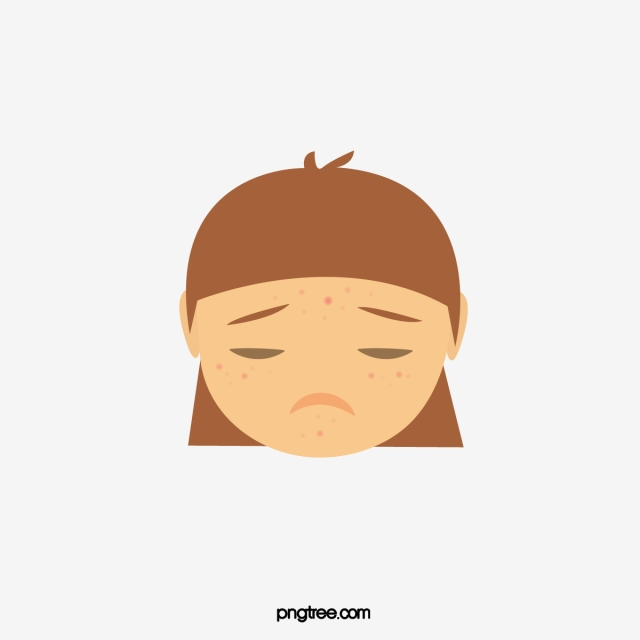 Acne Png - Skin Problem PNG Images | Vector and PSD Files | Free Download on ...