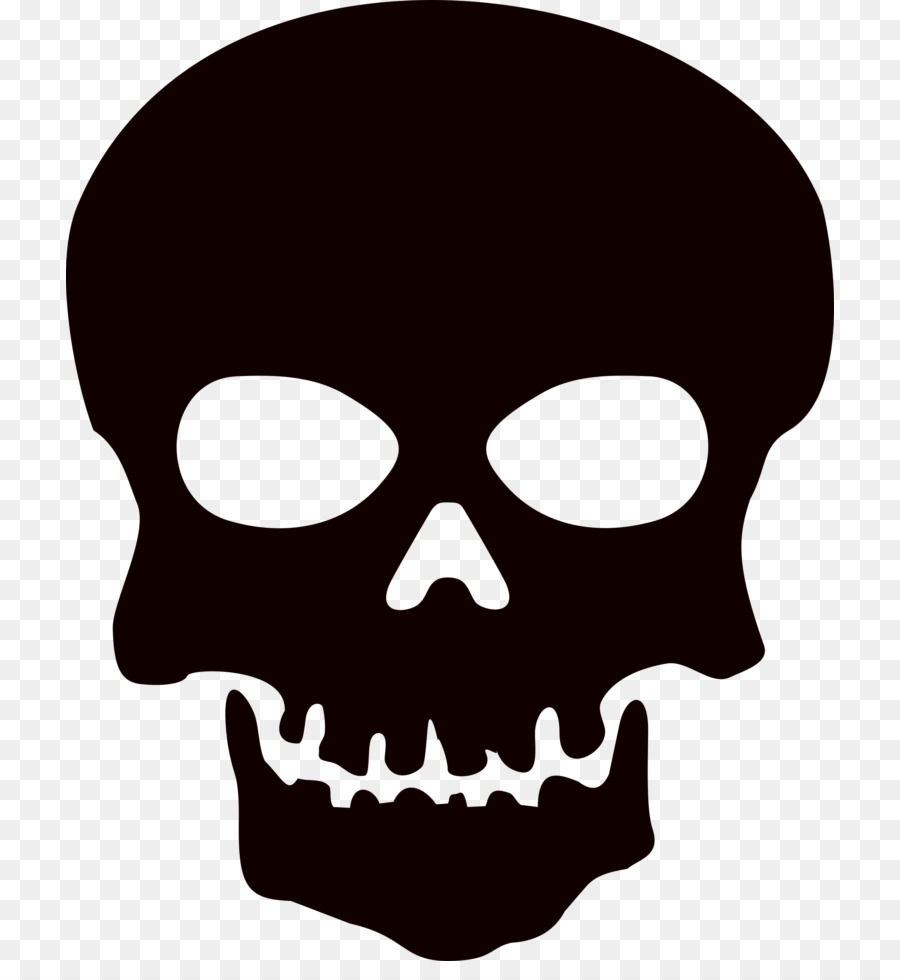 Skull Silhouettes Png - Skull And Crossbones png download - 768*961 - Free Transparent ...