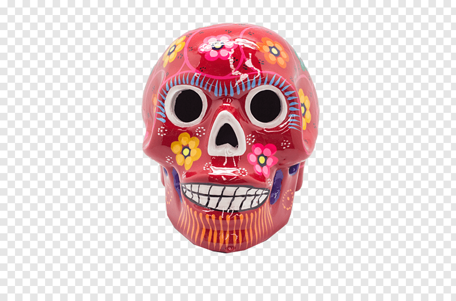 Festival Of The Dead Png - Skull Day of the Dead Mexican cuisine Ceramic Festival of the Dead ...