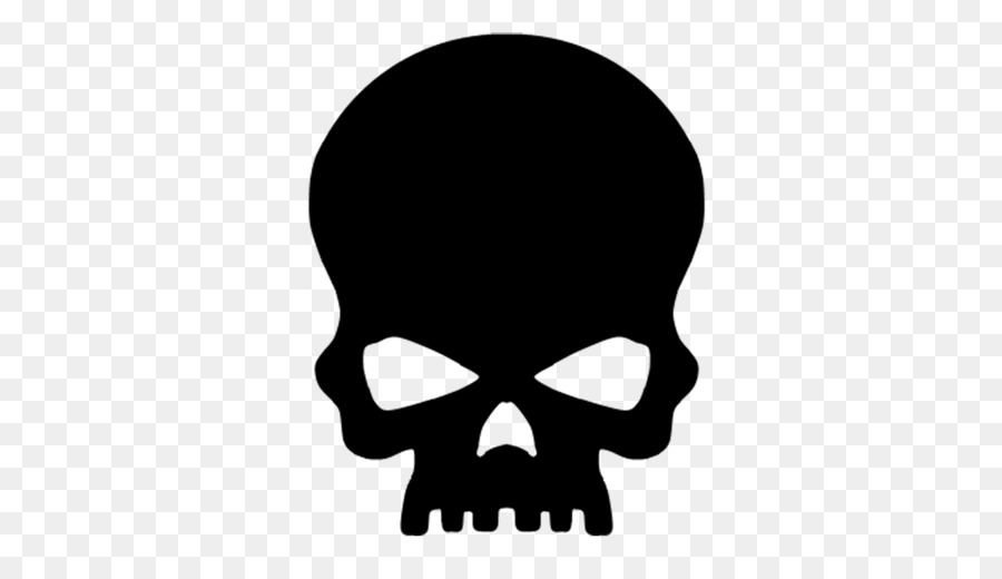 Skull Silhouettes Png - Skull Silhouette png download - 512*512 - Free Transparent Skull ...
