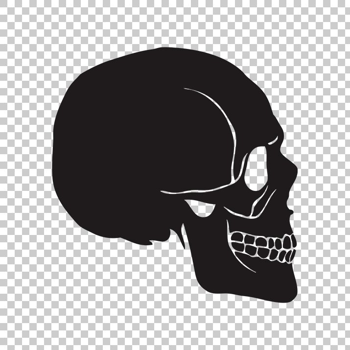 Skull Silhouettes Png - Skull Silhouette PNG Image Free Download Searchpng.com
