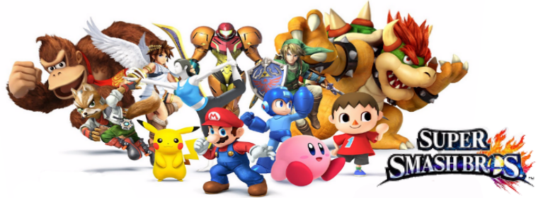 Super Smash Bros Png - Smash Bros Tournament | Events | King County Library System
