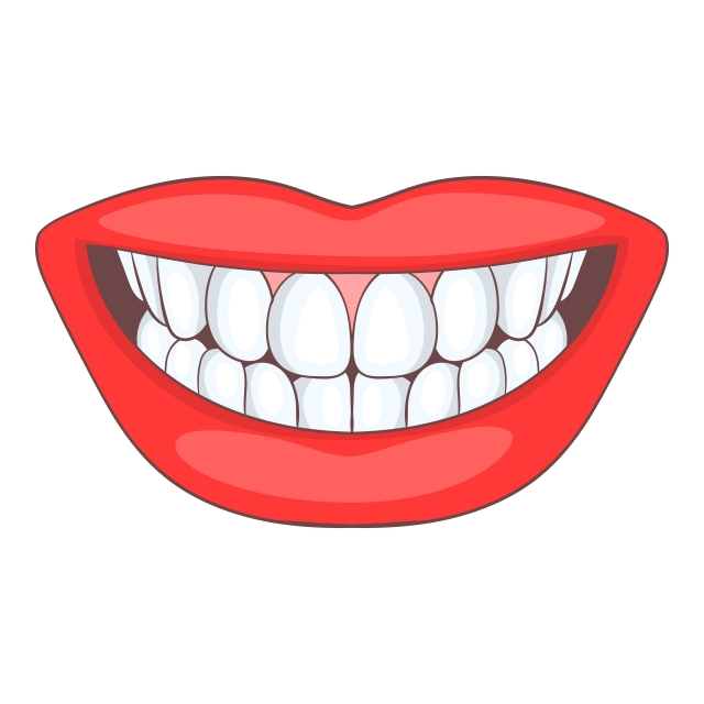 Smile Teeth Png - Smile With White Tooth Icon Cartoon Style, White, Smile, Tooth PNG ...