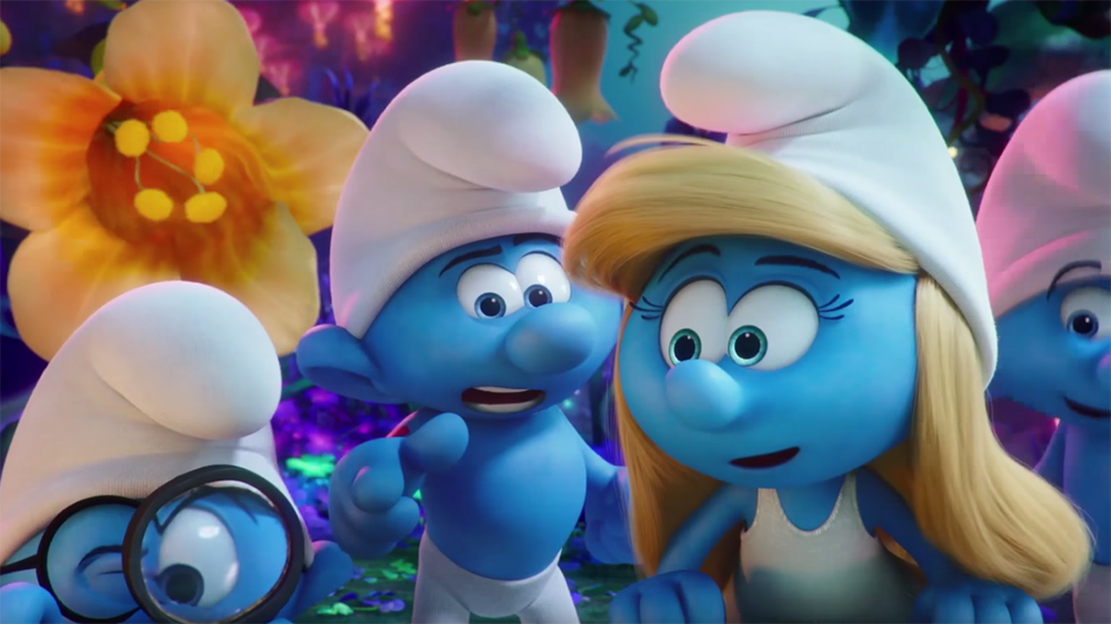 Animated - Smurfs: The Lost Village' Review: All-Animated and the Better For ...