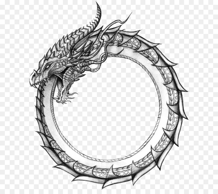 Ouroboros Symbol Png - Snake tattoo png download - 762*787 - Free Transparent Ouroboros ...