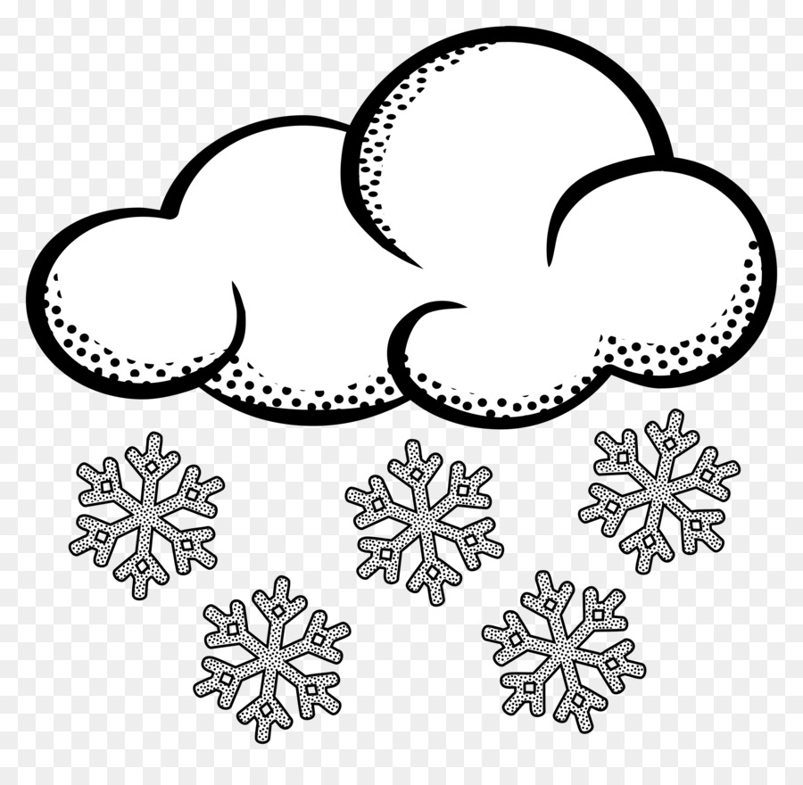 Black And White Snow Png - Snow Cloud PNG Black And White Transparent Snow Cloud Black And ...