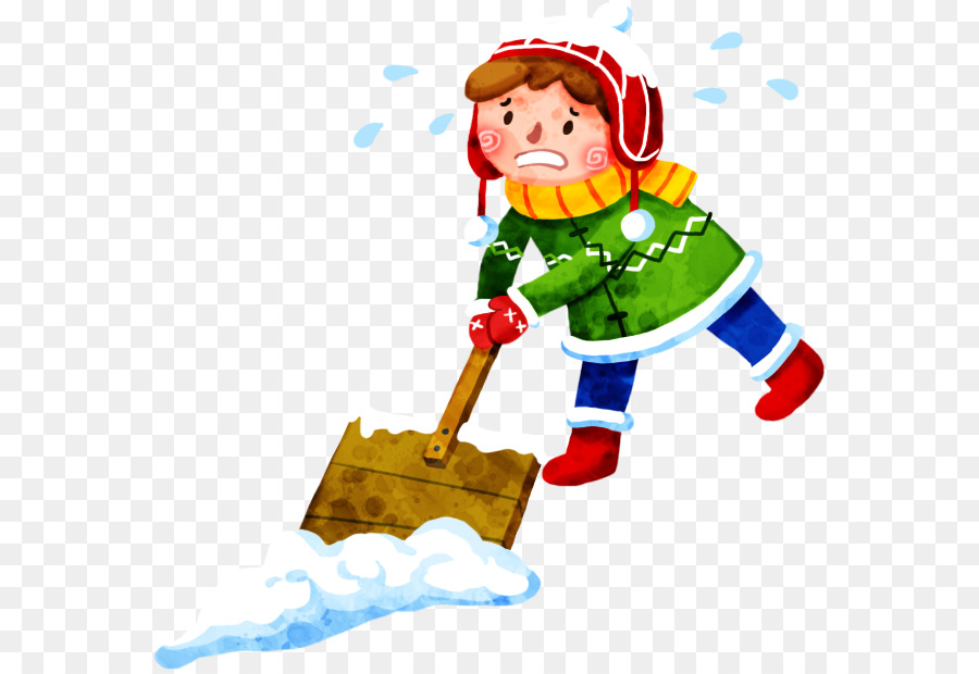 Shoveling Snow Png - Snow shovel - Snow kids png download - 618*616 - Free Transparent ...