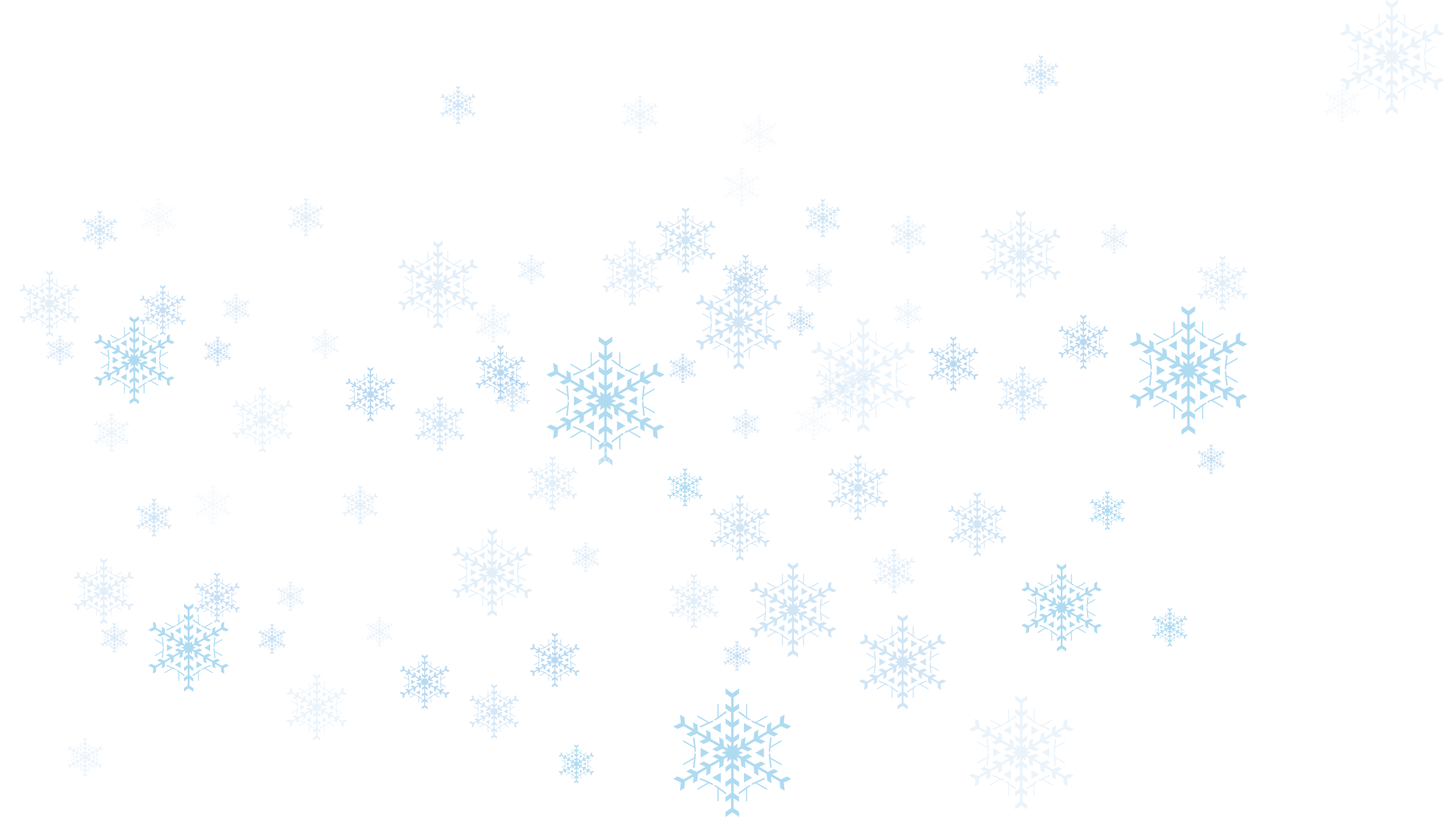 Snow transparent. Snowflake png no background
