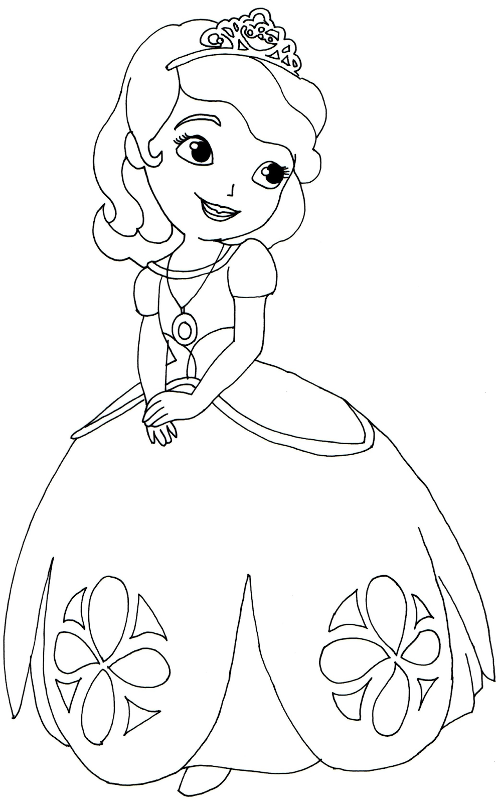 11 Sofia The First Free Printable Coloring Coloring Pages