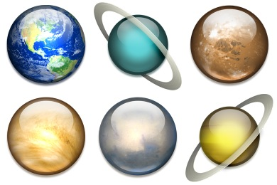 Solar System Png - Solar System Icons