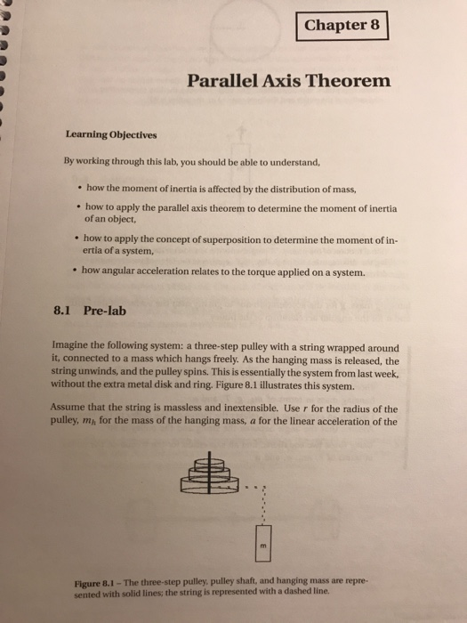 Parallel Axis Theorem Png - Solved: Chapter8 Parallel Axis Theorem Learning Objectives ...
