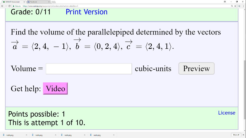 Volume Cubic Units Png - Solved: ← Cii Seoure Http://www.wamap.cr Action Skip&to-5 ...