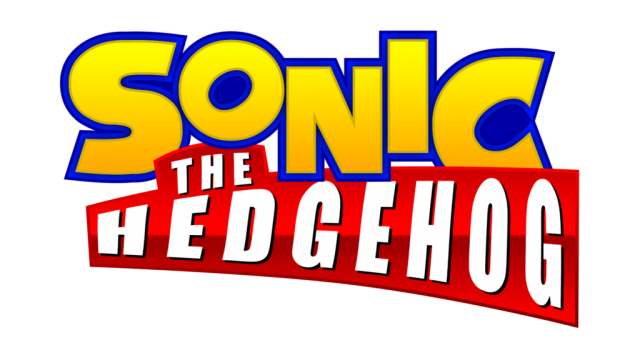 Sonic The Hedgehog Movie Logo Transparent