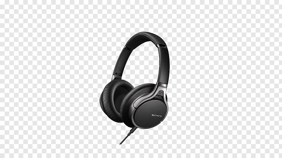 Sony Mdrv6 Png - Sony MDR-V6 Noise-cancelling headphones Microphone Active noise ...