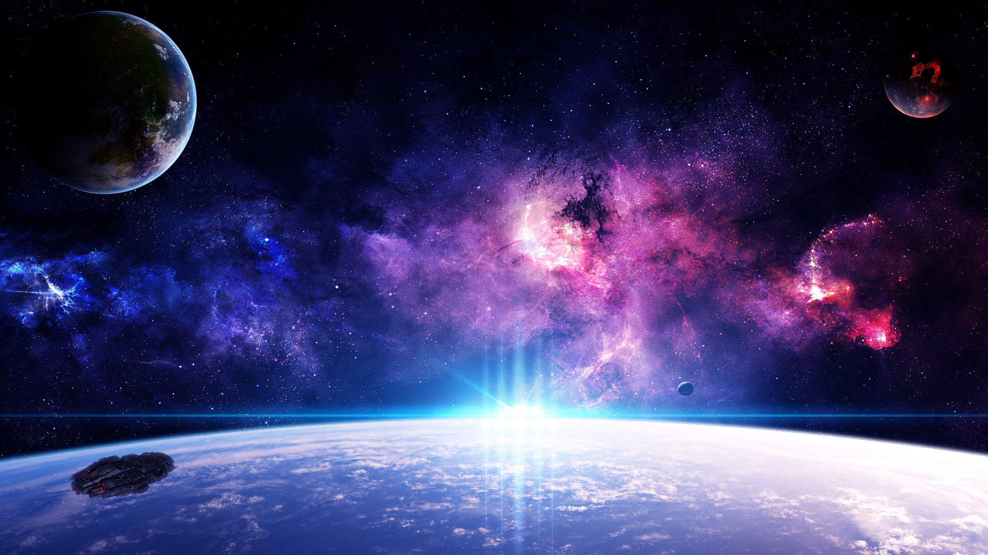space wallpaper hd astronaut lion country space wallpaper cool hd space png 1920 1080