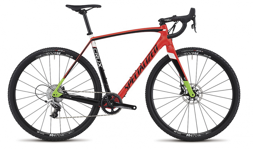 Cyclo Cross Bicycle Png - Specialized Crux 2017 cyclocross bikes unveiled - 142mm thru-axle ...